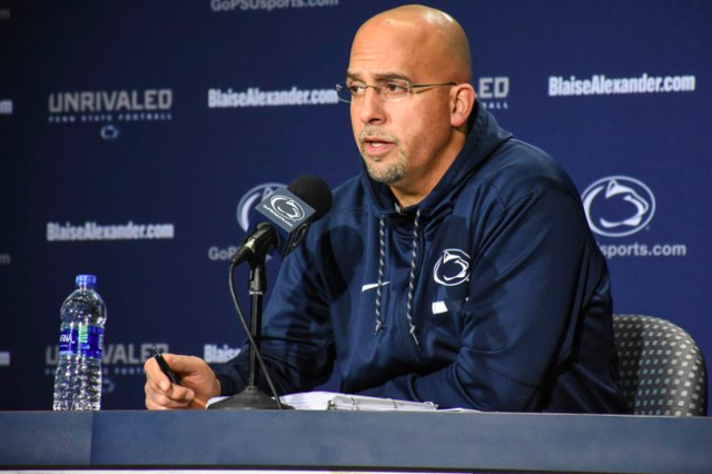 Penn State Football Wide Receivers Coach Gerad Parker Leaving to Become West Virginia's Offensive Coordinator, Per Report